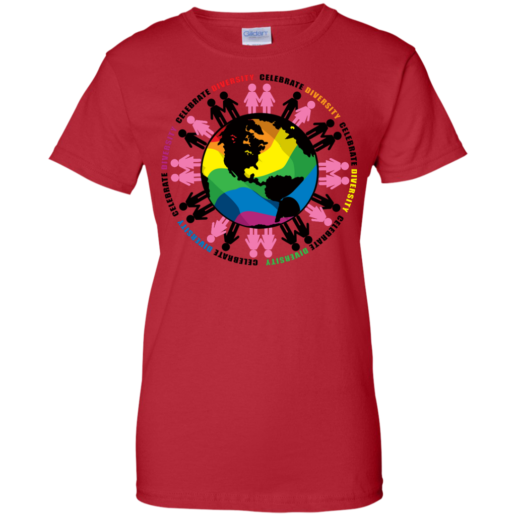 LGBT - Diversify The World lgbtqia T Shirt & Hoodie