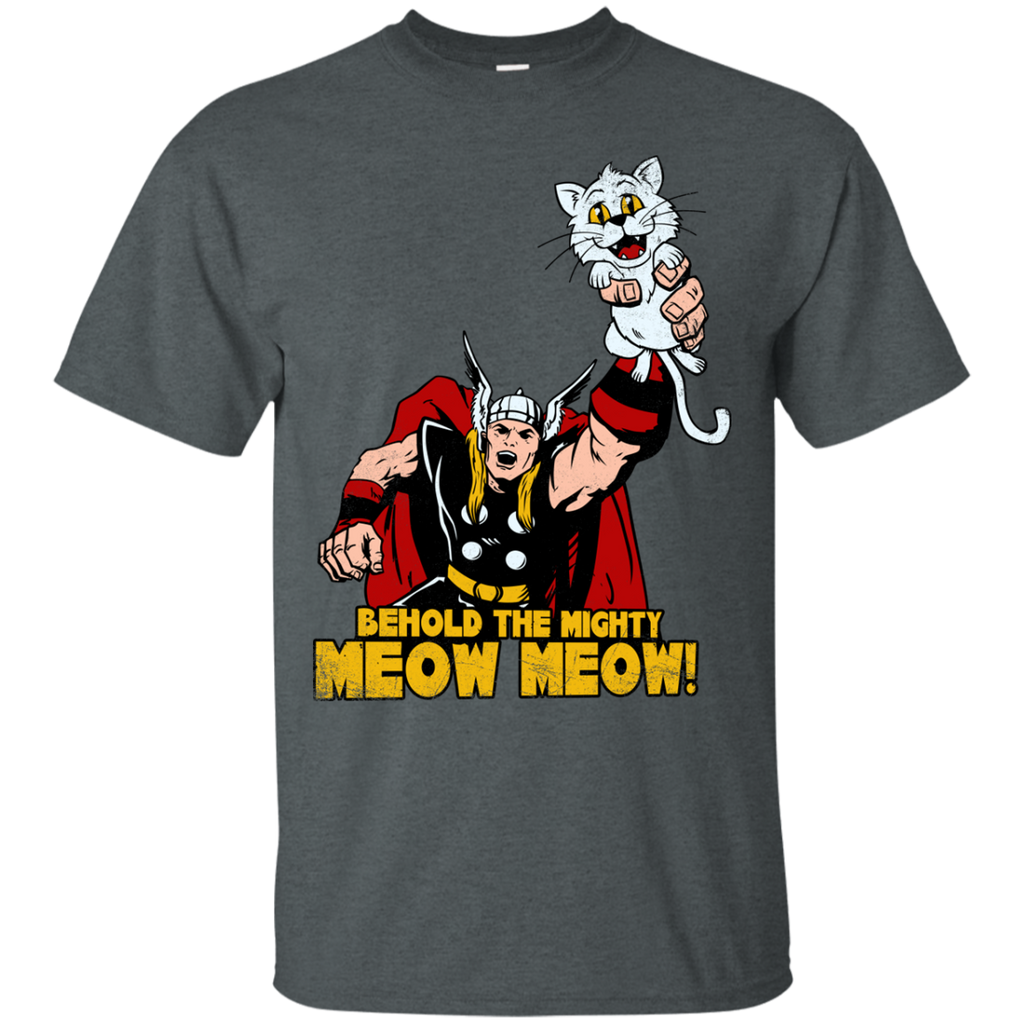 Marvel - Behold The Mighty Meow Meow mjolnir T Shirt & Hoodie