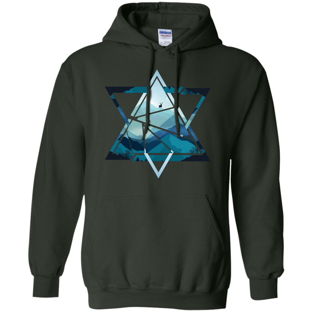Camping - Triangle Mountains Version 1 mountains T Shirt & Hoodie