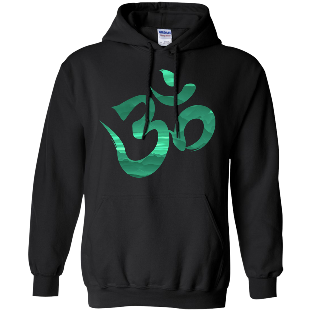Yoga - Peaceful Mantra T Shirt & Hoodie