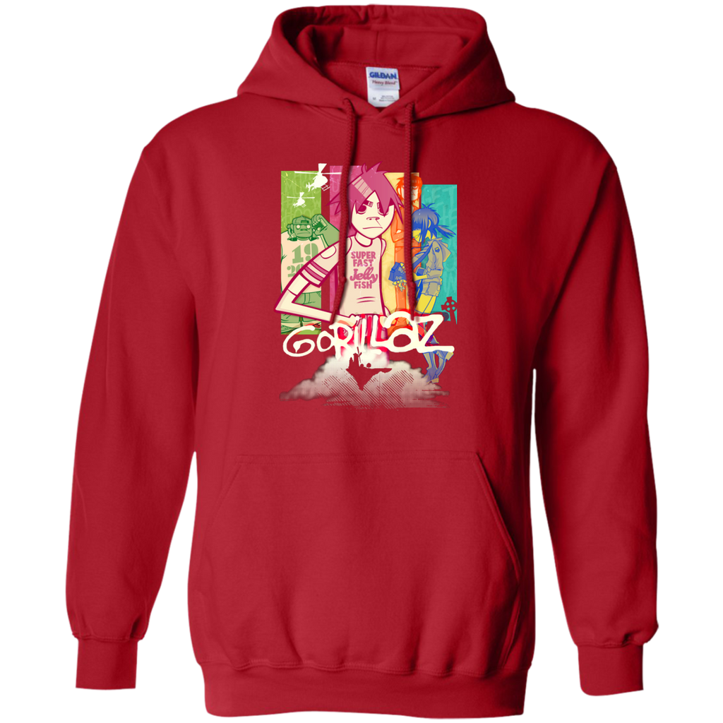 GORILLAZ - My Future Is Coming On T Shirt & Hoodie