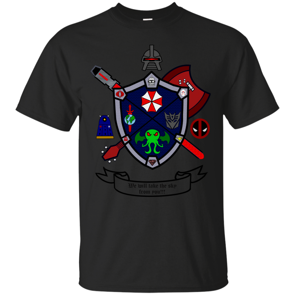Marvel - Dark Geek Crest  We will take the sky from you dc T Shirt & Hoodie