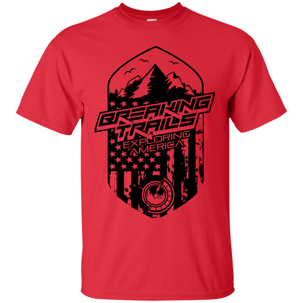 Hiking - BREAKING TRAILS exploring america T Shirt & Hoodie