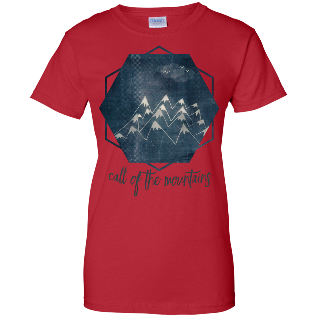 Hiking - call of the mountains mountains T Shirt & Hoodie