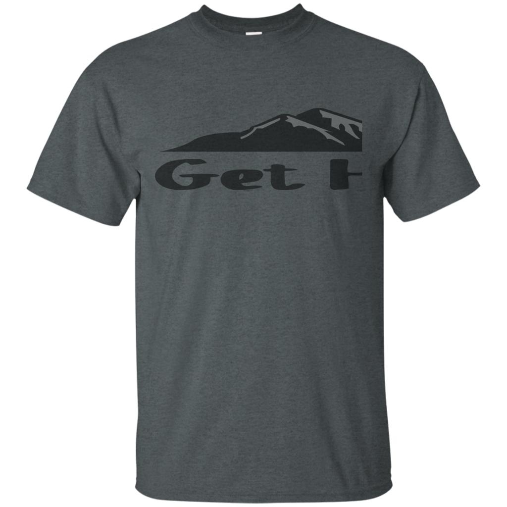 Camping - Get Higher  Mountain Silhouette Hiking Outdoor Trails mountain hiking T Shirt & Hoodie