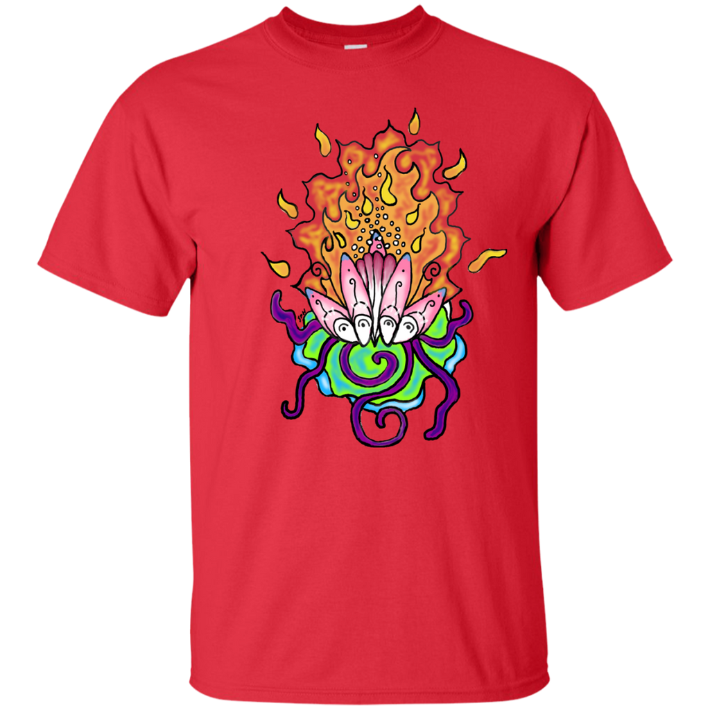 Yoga - Transformation Flower T Shirt & Hoodie