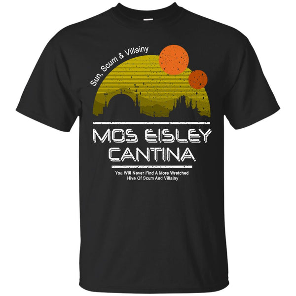 STAR WARS - Mos Eisley Cantina Vintage Version T Shirt & Hoodie