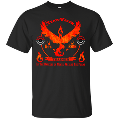 Pokemon - Team Valor Motto pokemon go T Shirt & Hoodie