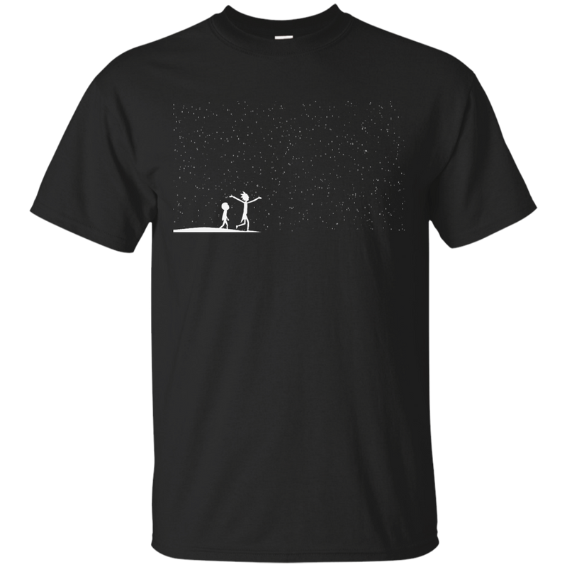CALVIN AND HOBBES - Rick and Morty Star Viewing T Shirt & Hoodie