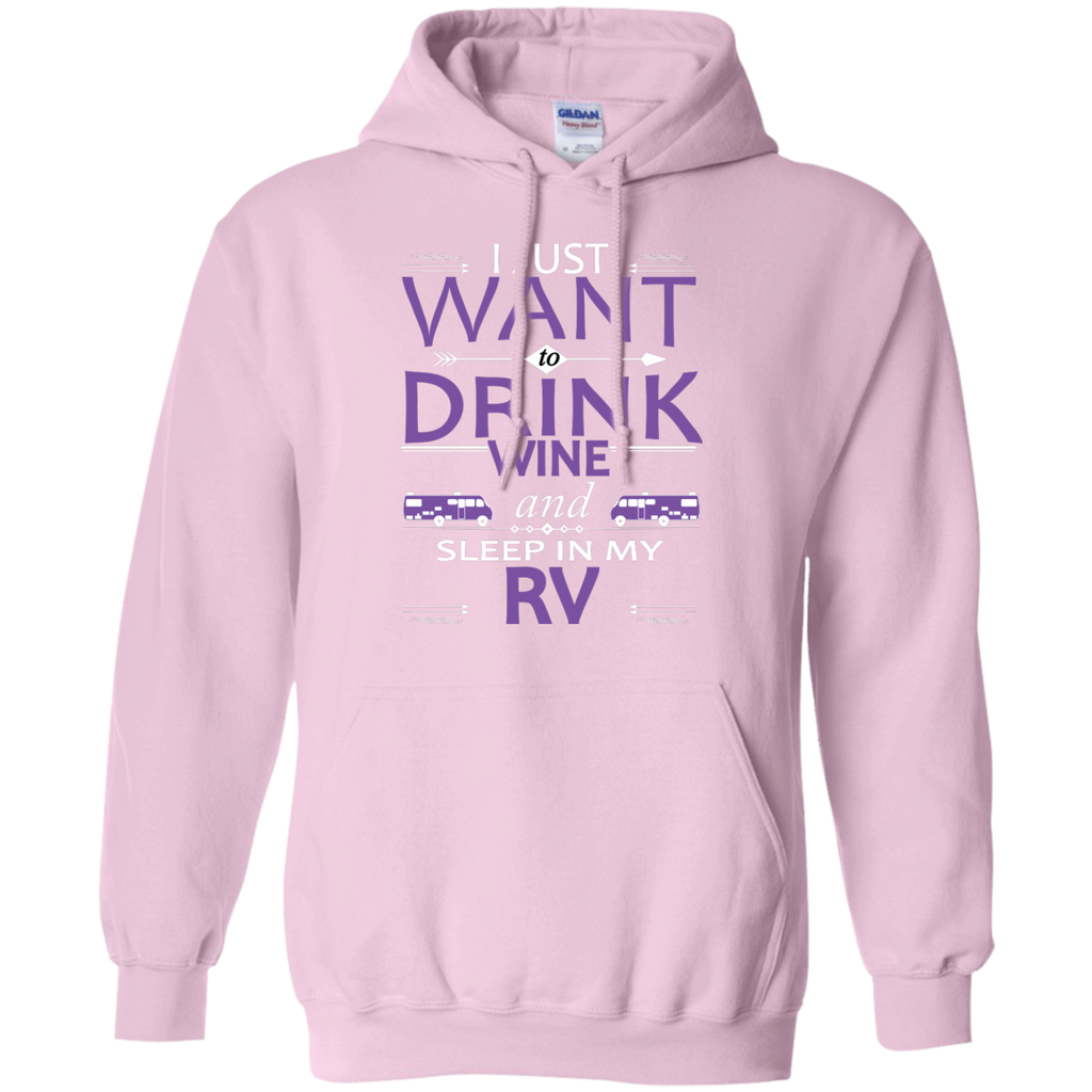 Camping - Drink Wine And Sleep In My RV rv camping T Shirt & Hoodie