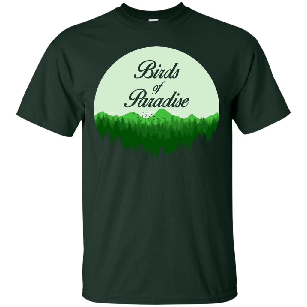 Camping - Birds of Paradise mountain T Shirt & Hoodie