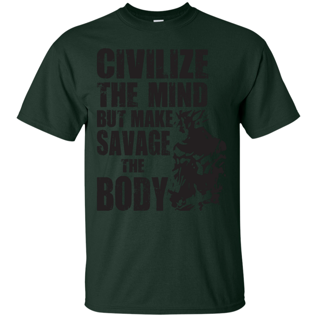 Dragon Ball - Civilize The Mind But Make Savage The Body pop culture T Shirt & Hoodie