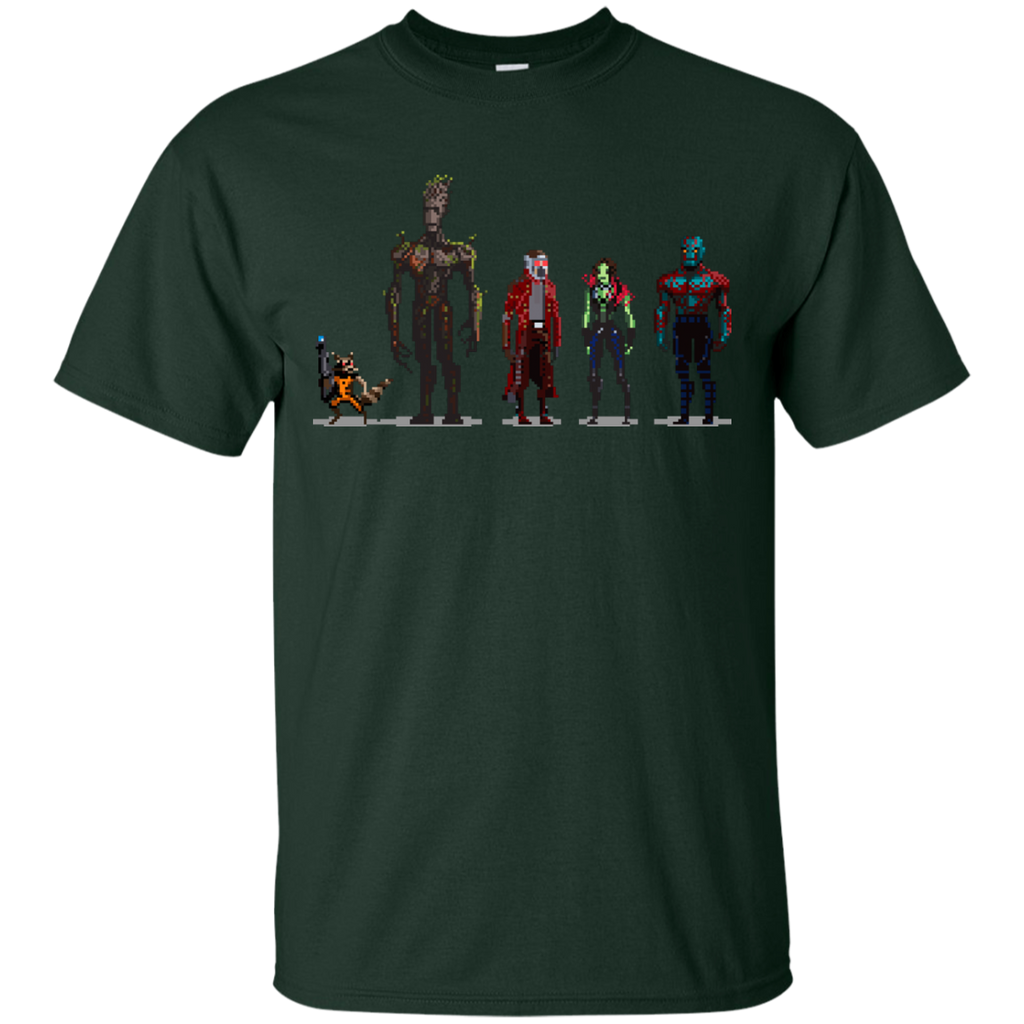 Marvel - Guardians of the Galaxy Pixelated guardians of the galaxy T Shirt & Hoodie