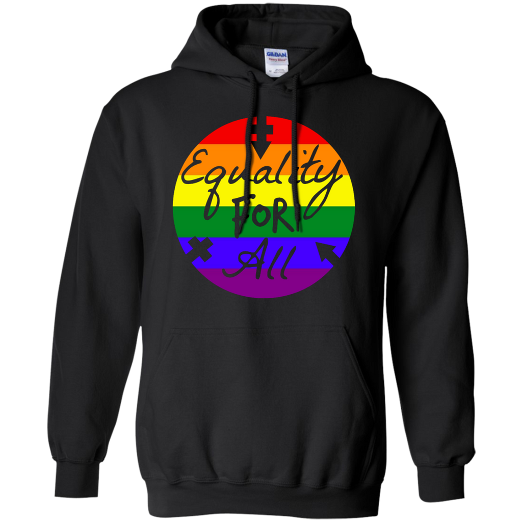 LGBT - Equality For All LGBTQ homosexual T Shirt & Hoodie