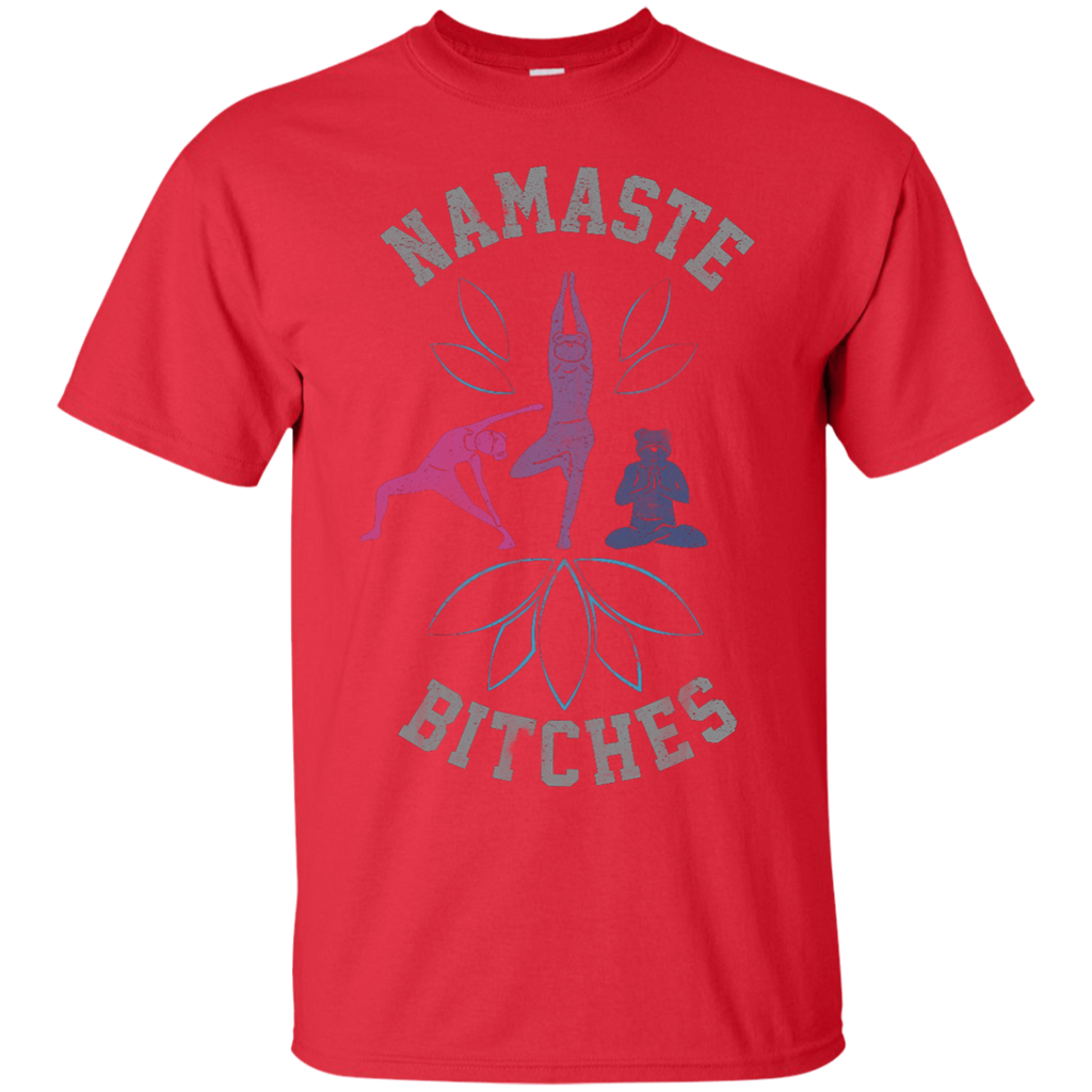 Yoga - NAMASTE BITCHES V2 - YOGA BEAR 254 T shirt & Hoodie