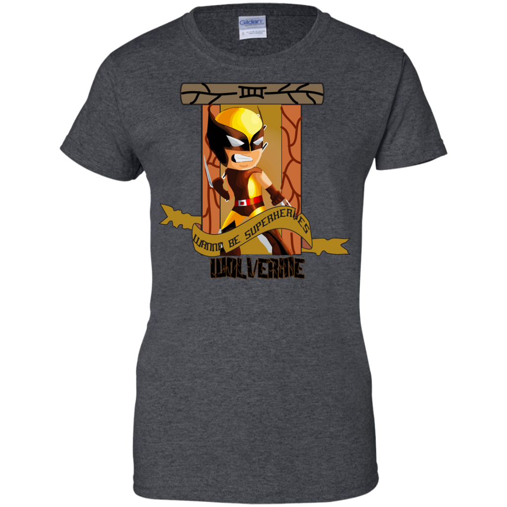 Marvel - WANNA BE SUPERHEROESWOLVERINE wolverine T Shirt & Hoodie