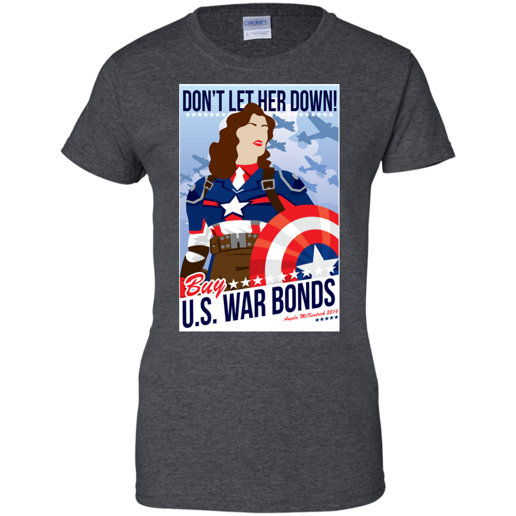 Marvel - Dont Let Her Down peggy carter T Shirt & Hoodie