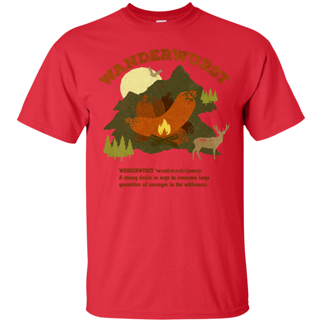 Camping - WunderWurst mountains T Shirt & Hoodie