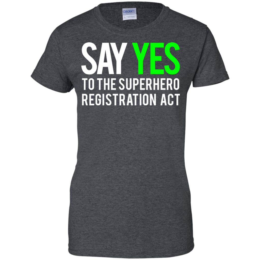 Marvel - Civil War  Say Yes  White Clean civil war T Shirt & Hoodie
