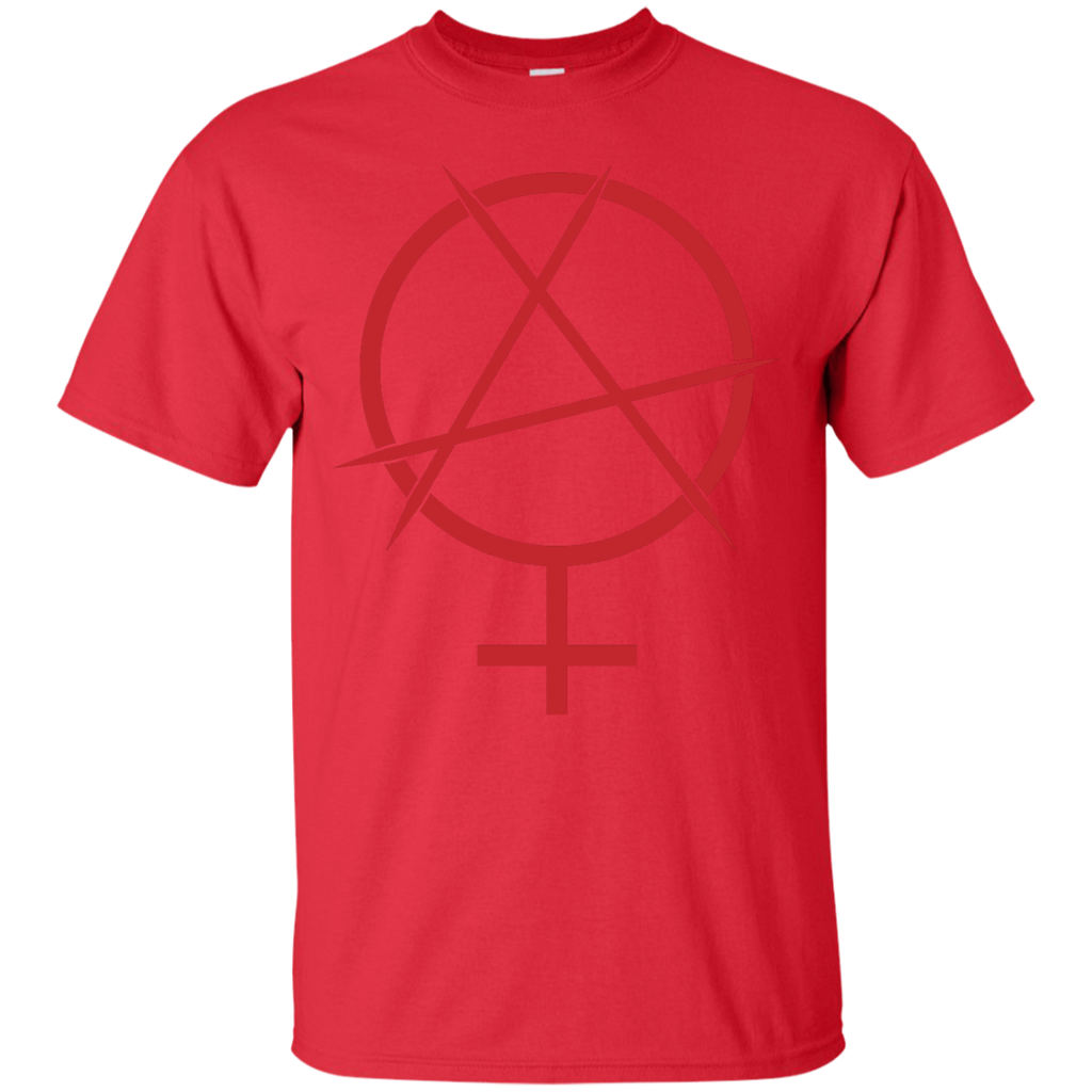 LGBT - Feminist Anarchy Symbol womens rights T Shirt & Hoodie