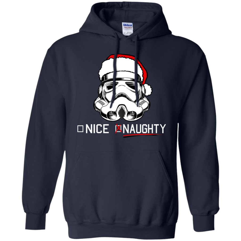 Star Wars - Stormtrooper Naughty List T Shirt & Hoodie