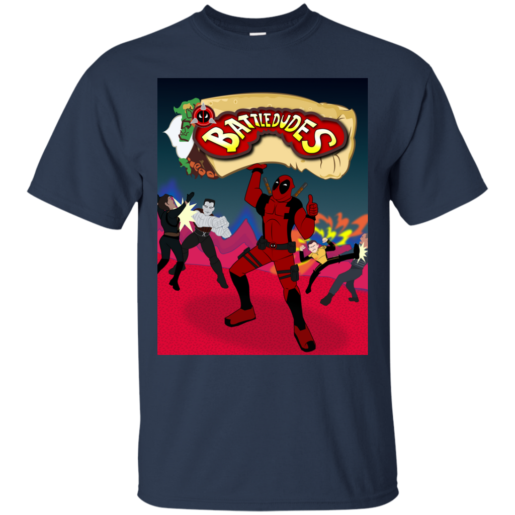 Marvel - Battledudes deadpool T Shirt & Hoodie