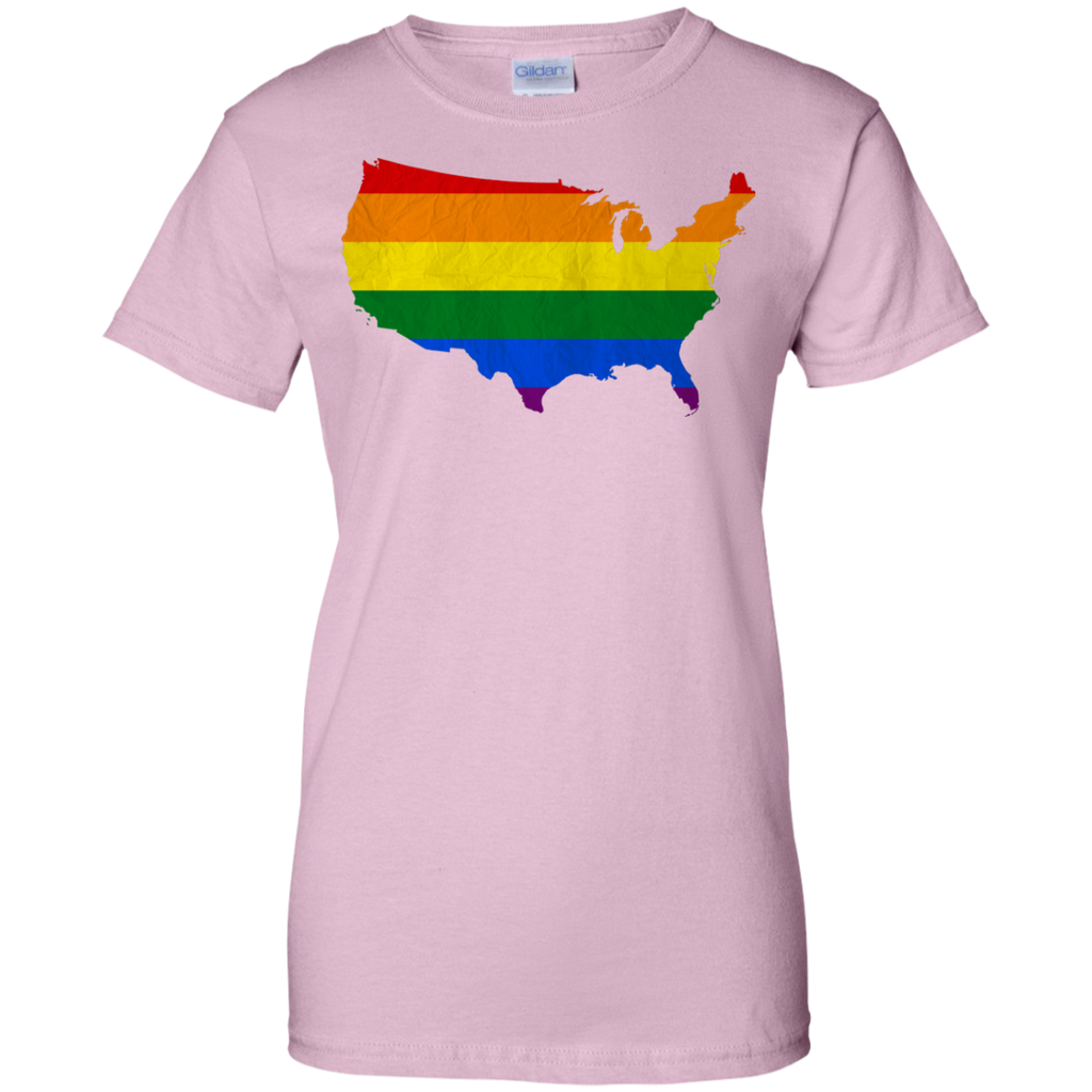 LGBT - Gay USA  PRIDE gay pride T Shirt & Hoodie
