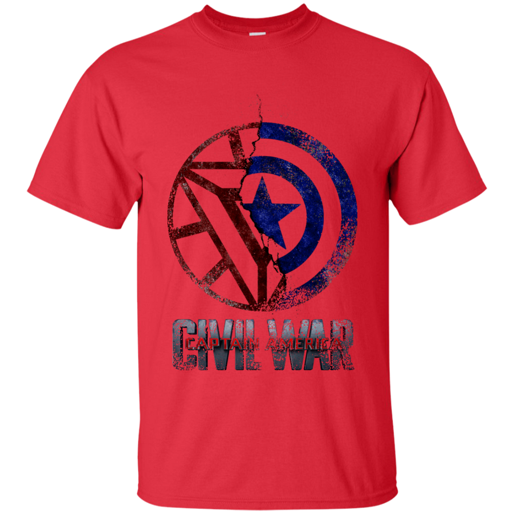 Marvel - civil war cracked civil war T Shirt & Hoodie