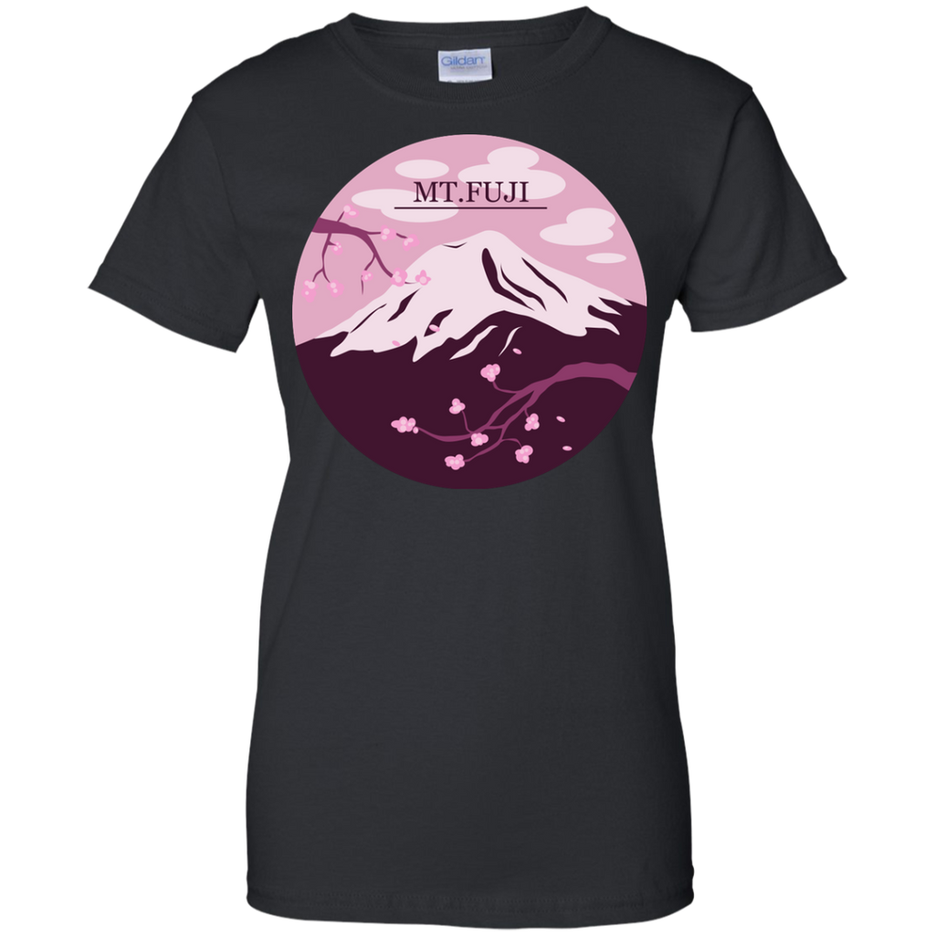 Hiking - Mt Fuji Pink japan T Shirt & Hoodie
