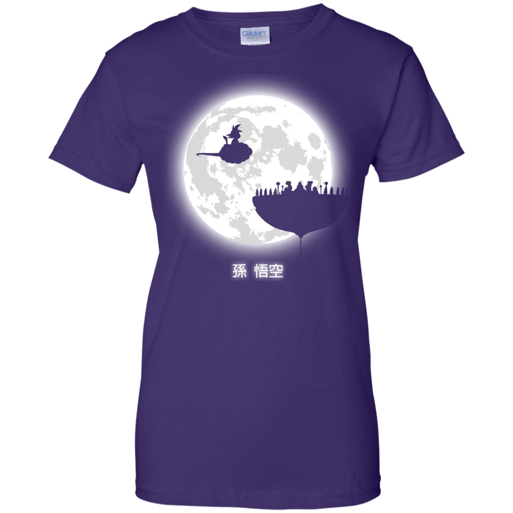 Dragon Ball - Dont look at the full moon tv T Shirt & Hoodie