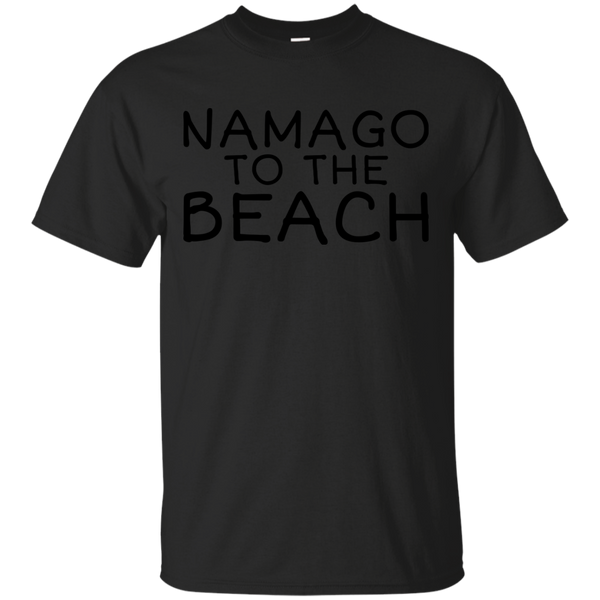 Yoga - NAMAGO TO THE BEACH - BLACK TEXT T shirt & Hoodie