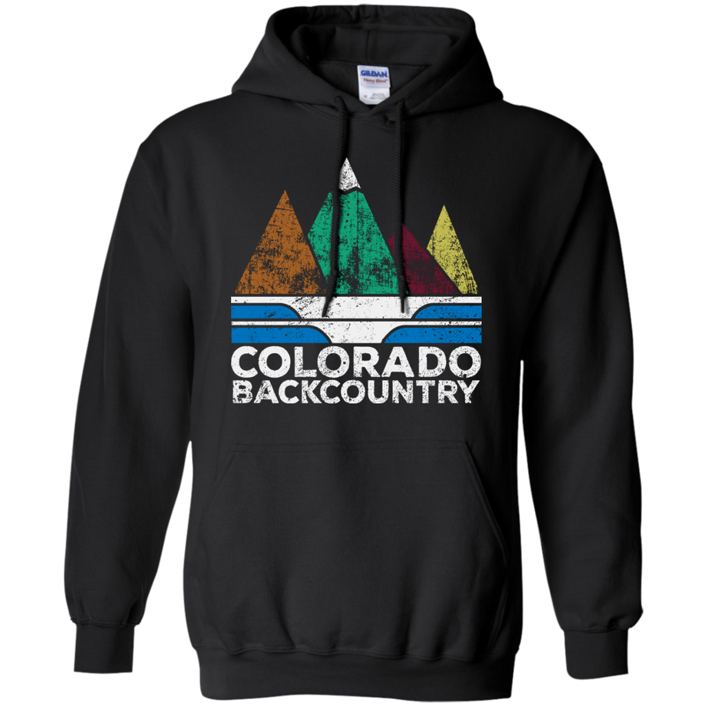 Hiking - Colorado Background Adventure Shirt outdoor T Shirt & Hoodie