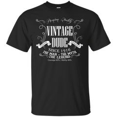 100TH BIRTHDAY - Vintage Dude 100 since 1916  100th birthday gift for men T Shirt & Hoodie