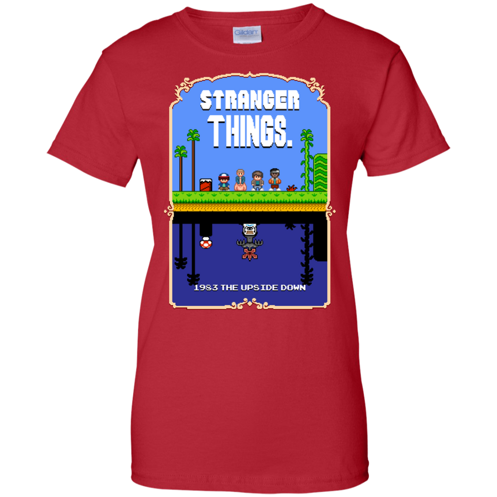 DEMOGORGON - Stranger Things Mario Bros 2 Pixel Art Mashup T Shirt & Hoodie