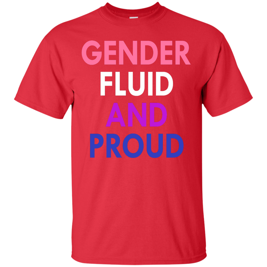 LGBT - Gender fluid and proud lgbt T Shirt & Hoodie