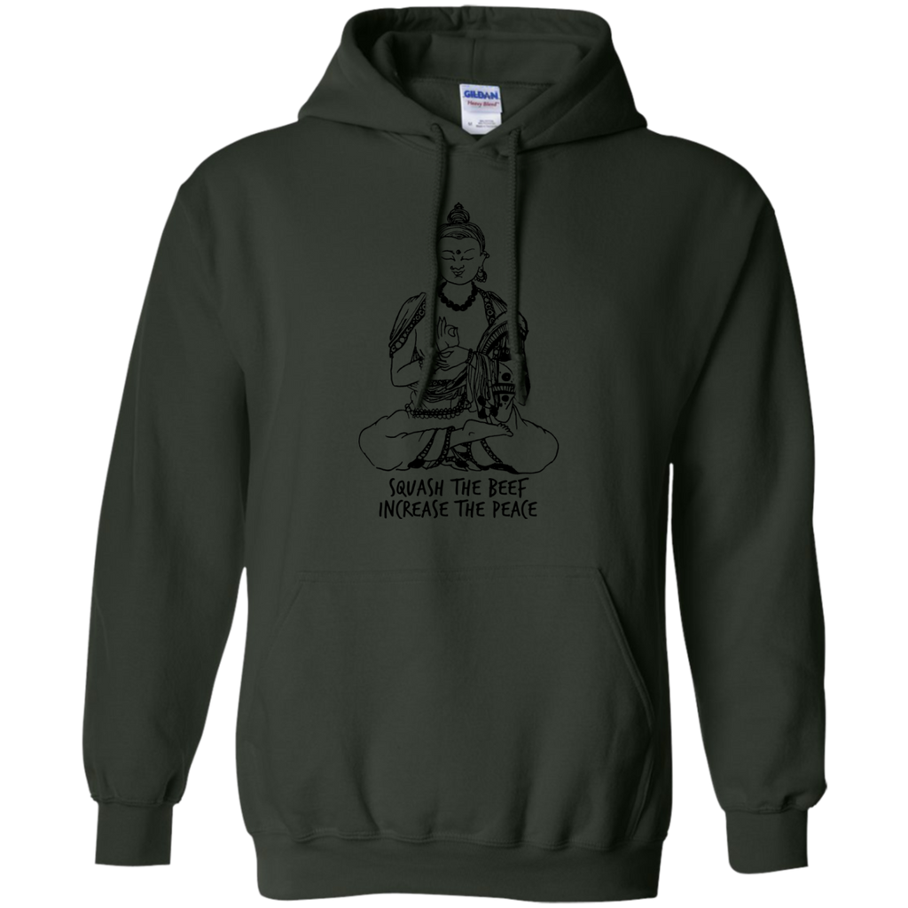 Yoga - SQUASH THE BEEF INCREASE THE PEACE 295 T shirt & Hoodie