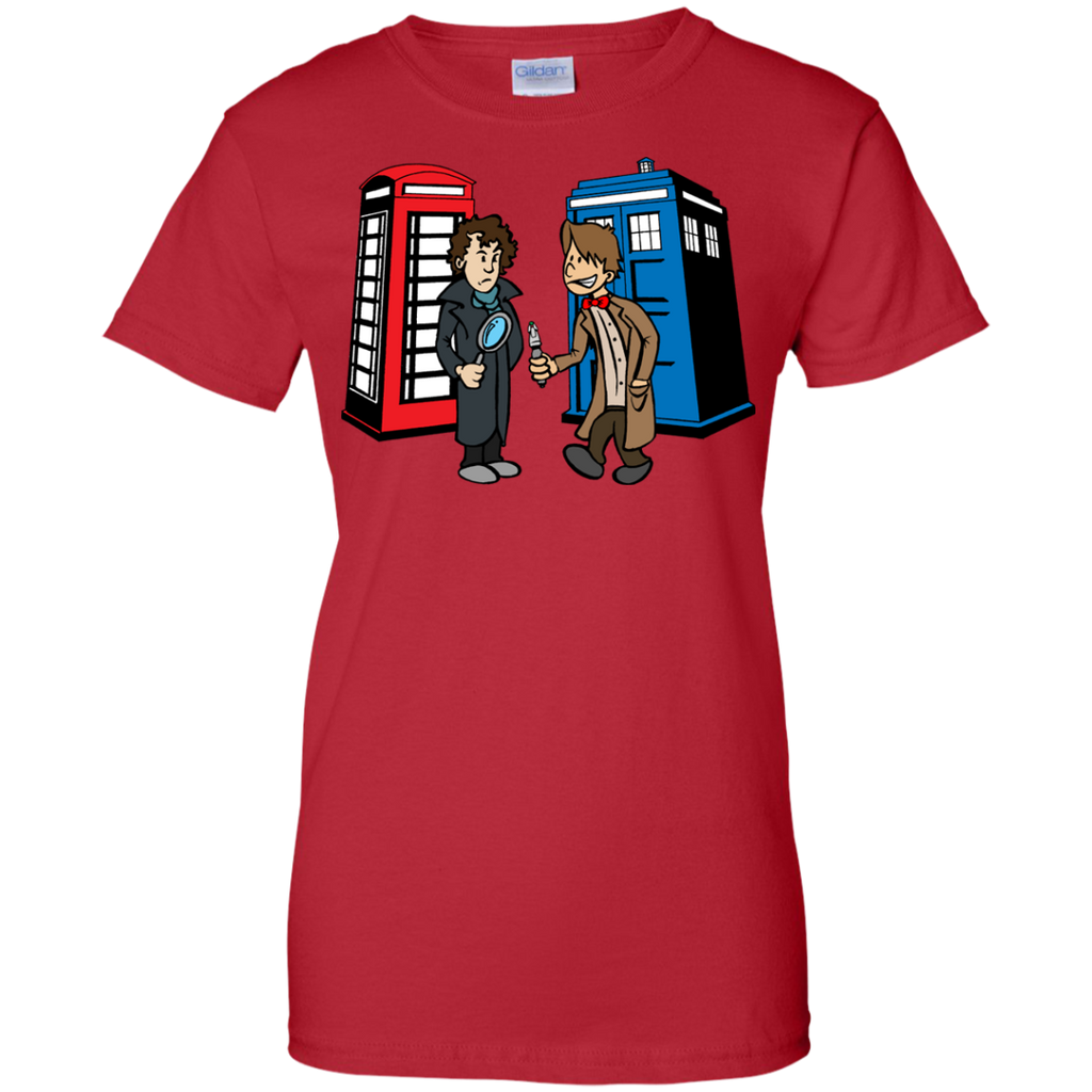 Marvel - Doctor Who Meets Sherlock sherlock and doctor who T Shirt & Hoodie