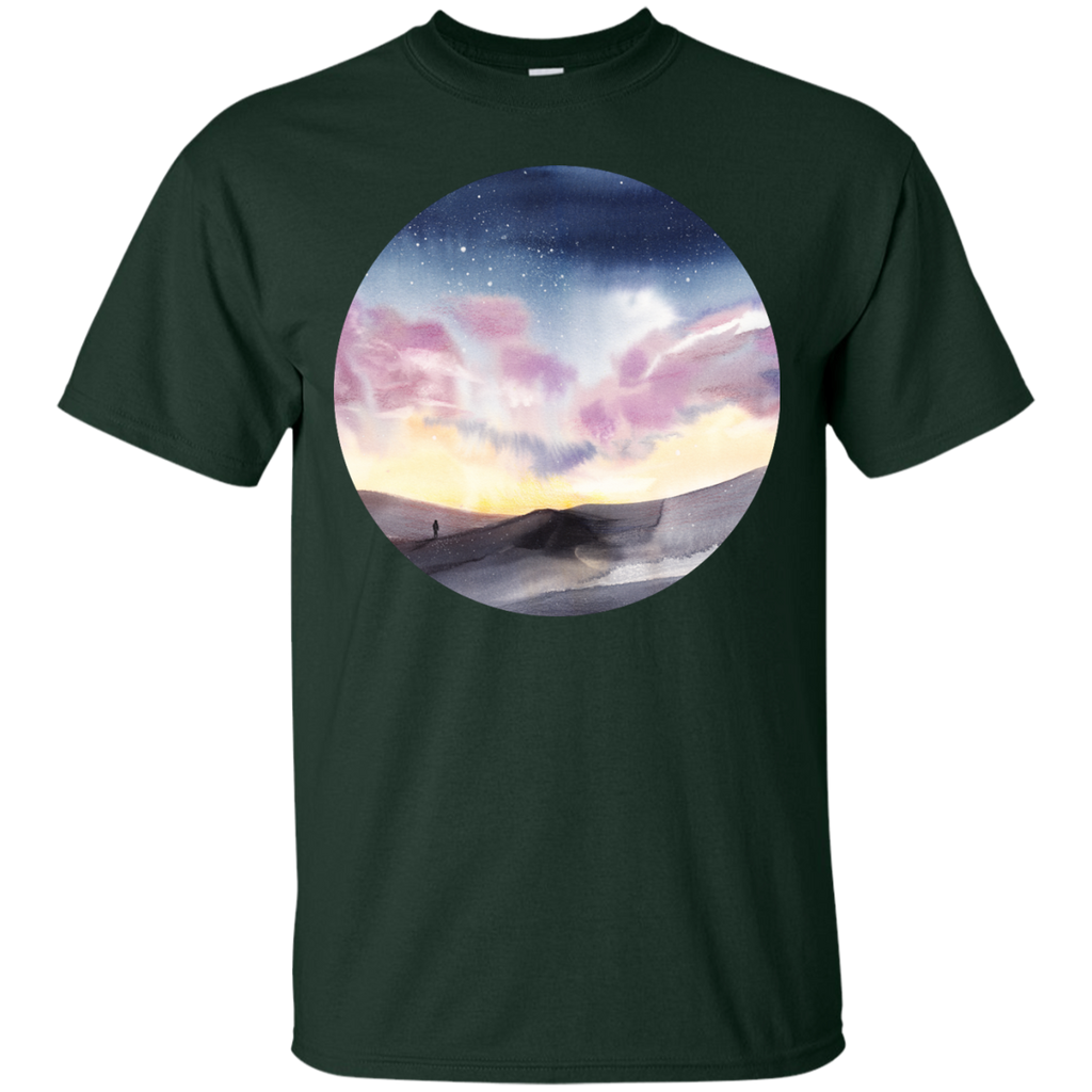 Hiking - Lost in loneliness landscape T Shirt & Hoodie