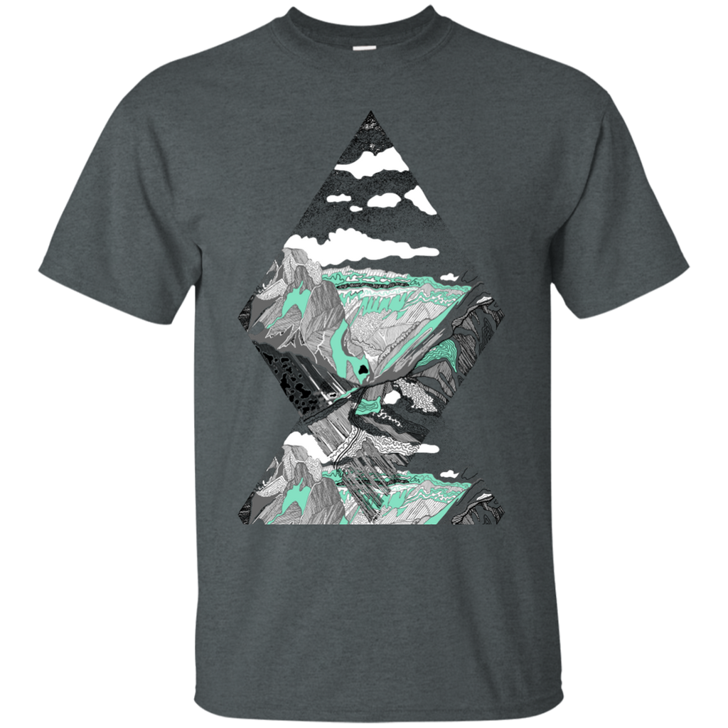 Camping - Landscape 2 mountains T Shirt & Hoodie
