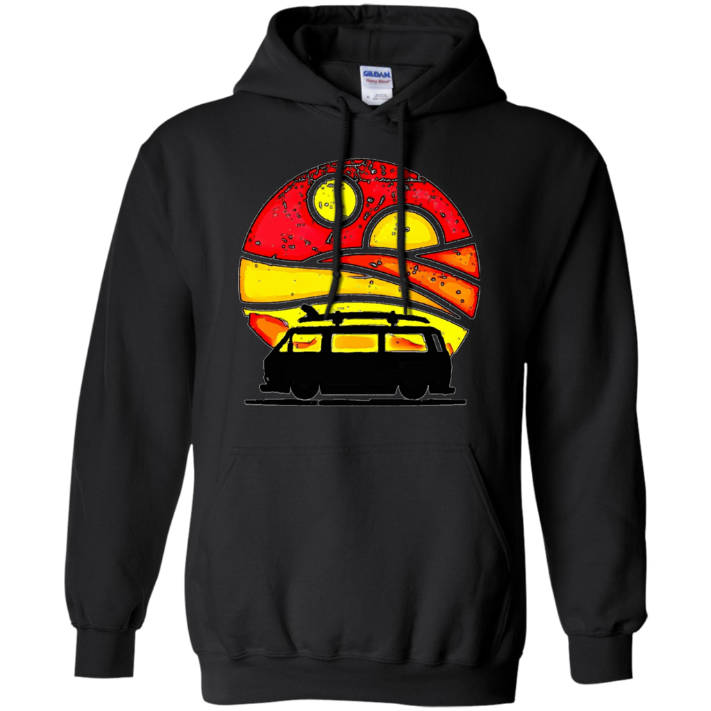 Camping - Sunset surf bus type 2 T Shirt & Hoodie