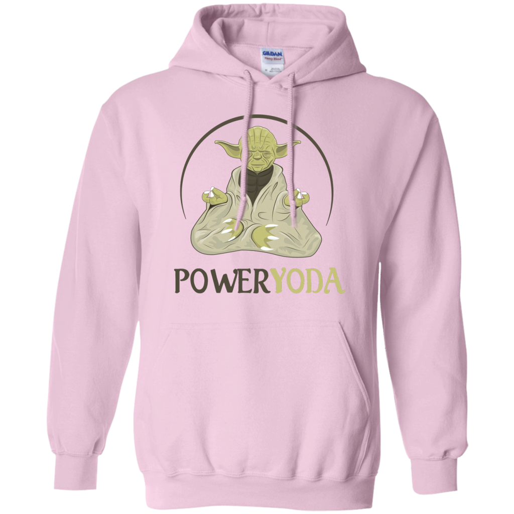 Yoga - POWER YODA T shirt & Hoodie
