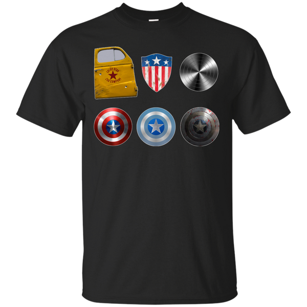 Marvel - Captains Shield Through The Years steve rogers T Shirt & Hoodie