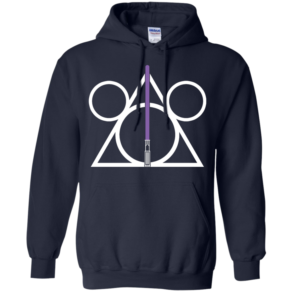 DISNEY HARRY POTTER MASH UP STAR WARS - Disney Hallows purple T Shirt & Hoodie