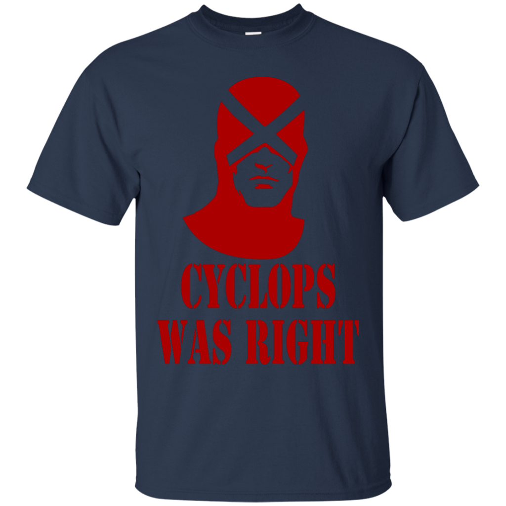 Marvel - Cyclops was right red x men T Shirt & Hoodie