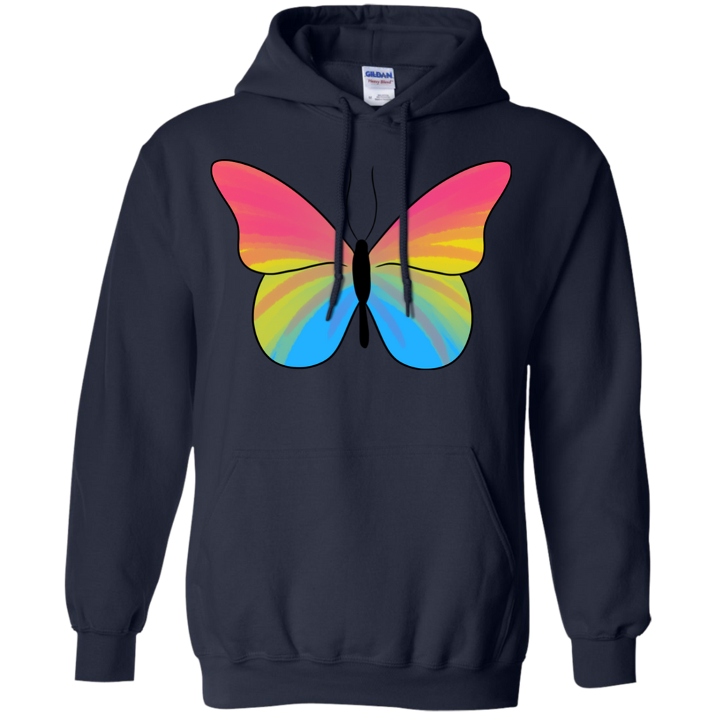 LGBT - Butterfly Pansexual Pride pansexual T Shirt & Hoodie