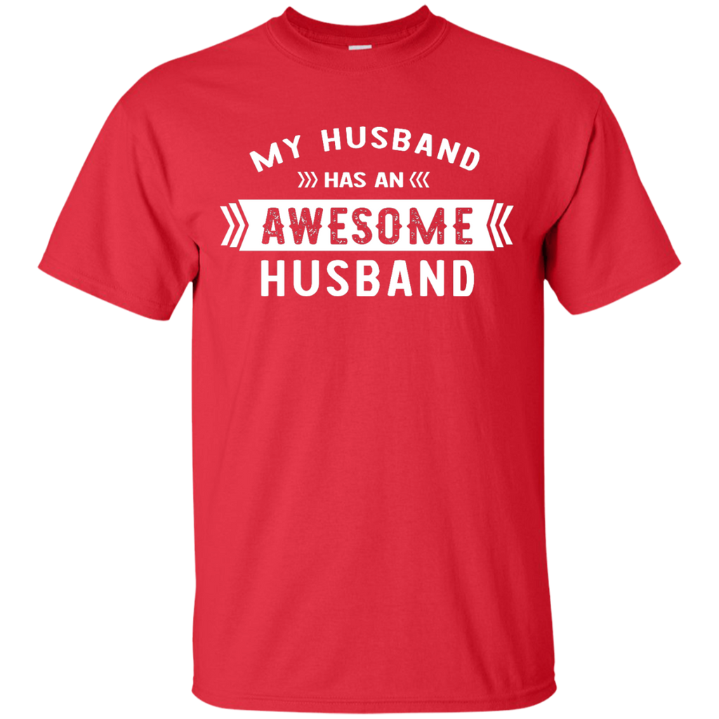 LGBT - My Husband has an Awesome Husband valentine T Shirt & Hoodie
