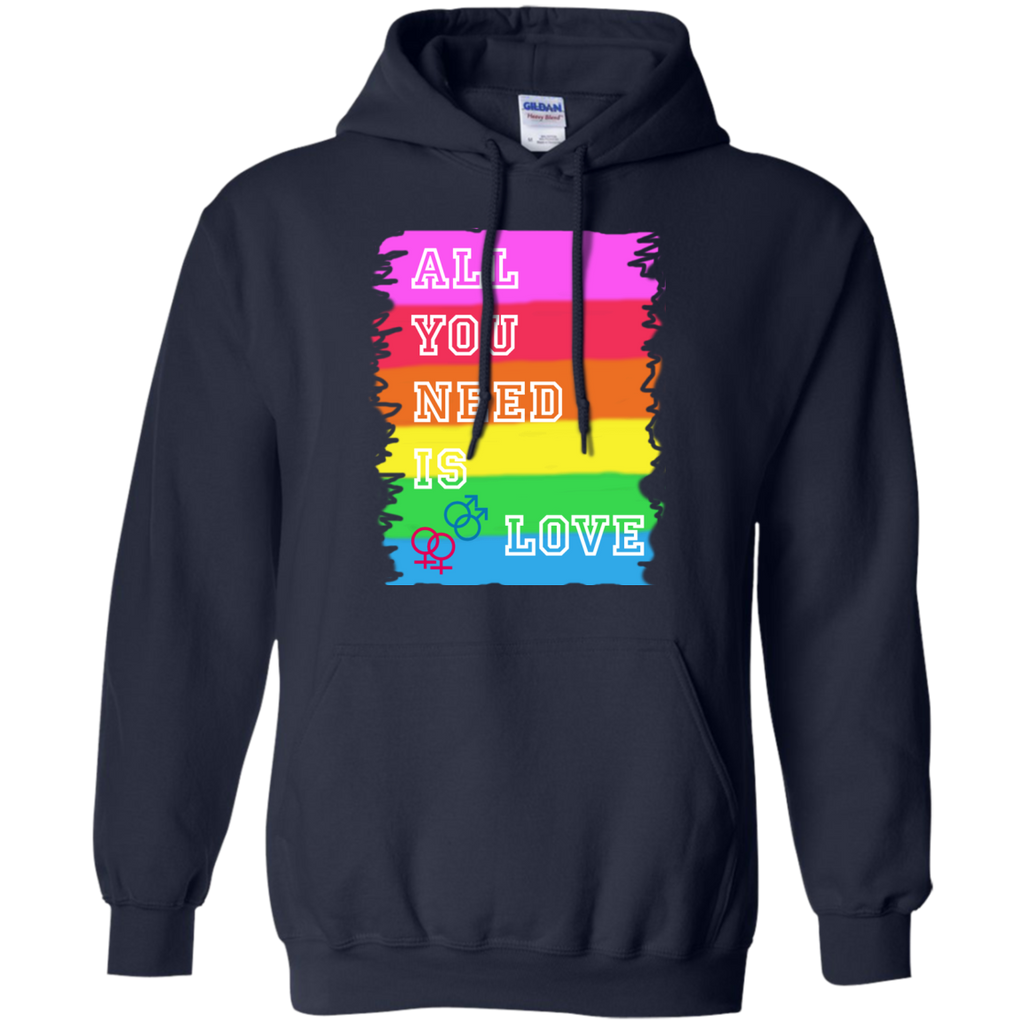 LGBT - All you need is love  Gay Pride LGBT Pride Gay Love gay pride rainbow all you need is love T Shirt & Hoodie