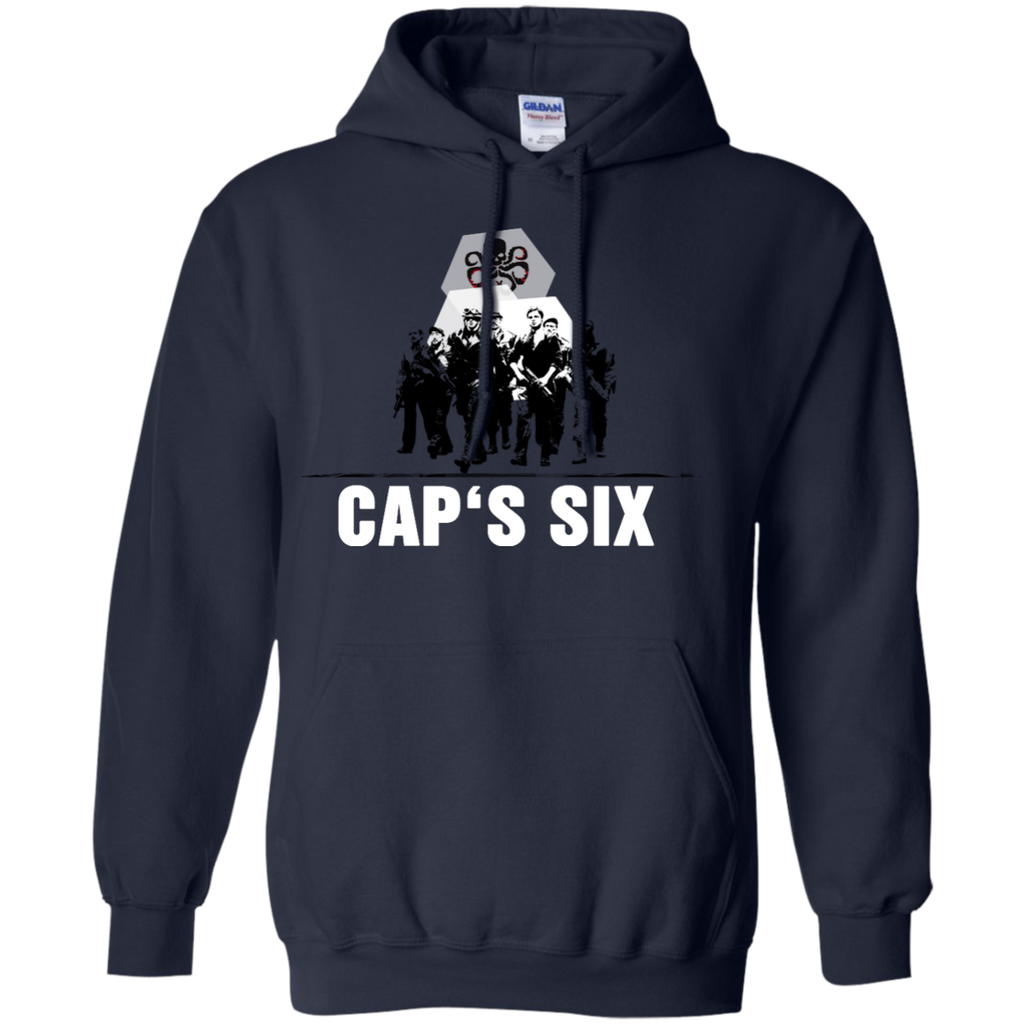 Marvel - Caps Six captain america T Shirt & Hoodie