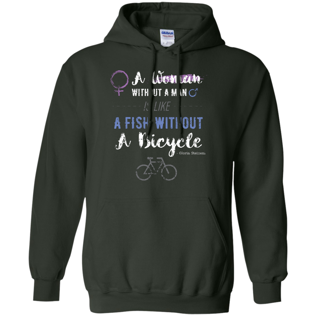 LGBT - A Woman Without A Man Is Like A Fish Without A Bicycle TShirt bikes T Shirt & Hoodie