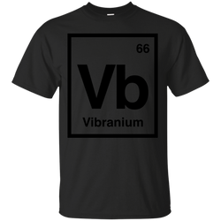 Marvel - VIBRANIUM  A MARVEL ELEMENT black panther T Shirt & Hoodie